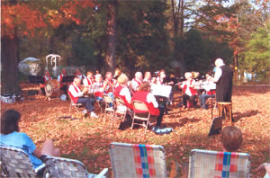 View of Grafton Cornet Band from Audience, October 2007