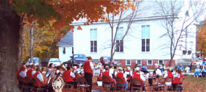 Grafton Cornet Band, view from behind, October 2007